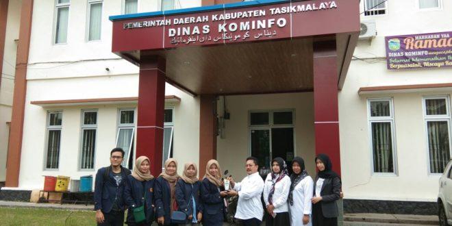 Mahasiswa STIA Lakukan Ristek Di Dinas Kominfo Kabupaten Tasik