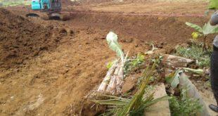 Pembangunan Perumahan Di Kampung Bapung Ciakar Disoal Warga