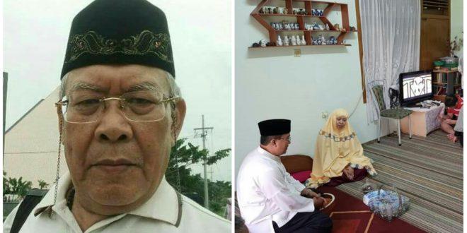 Pengurus DKM Mesjid Agung Wafat, Walikota Tasik Ikut Berbelasungkawa