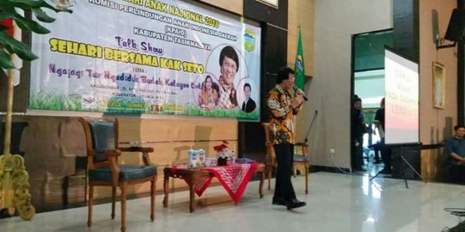 Peringati Hari Anak, KPAI Kabupaten Tasik Gelar Talk Show Bersama Kak Seto