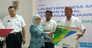 Launching Desa Sadar Jaminan Sosial Ketenagkerjaan Sebagai Inovasi BPJS Ketenagakerjaan Rekrut Peserta