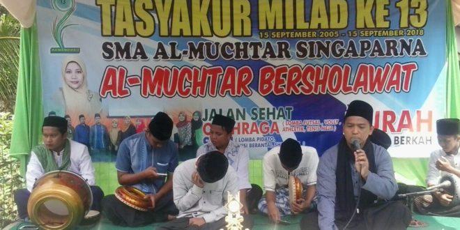 Milad SMA Al-Muchtar Selenggarakan Berbagai Kegiatan