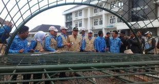Pembangunan Penataan Taman Balaikota Dinilai Lamban, Wawali Pinta Percepat