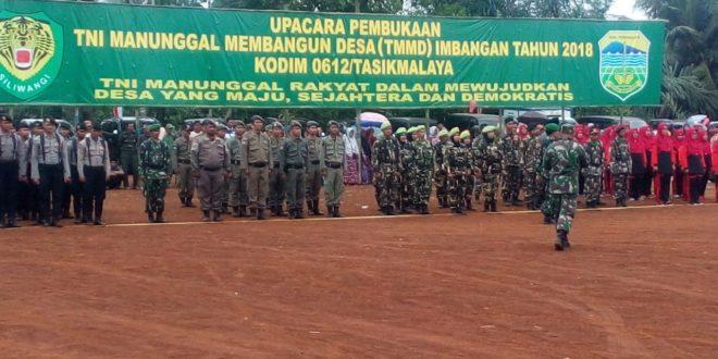 TNI Manunggal Membangun Desa, Dukung Program Pro Rakyat