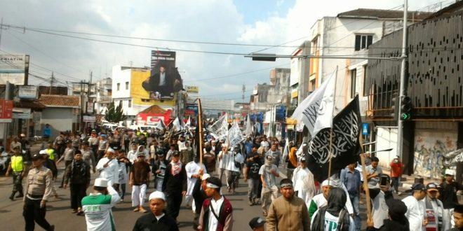 Aksi Bela Kalimat Tauhid Di Kota Tasikmalaya