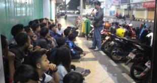 BNN Kota Tasik Lakukan Tes Urine Kepada Club Motor