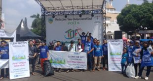 Clean The City Kampanyekan Peduli Kebersihan Di Arena TOF 2018