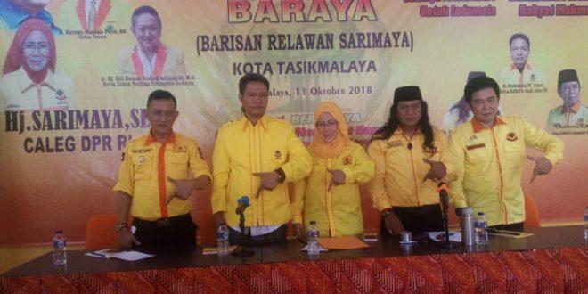 Deklarasi Baraya Dorong Hj Sarimaya Manggung Di Senayan