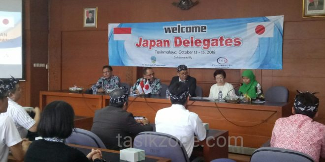 Delegasi Jepang Datang Ke Tasik, Bahas Pelatihan Dan Penerapan Kerja