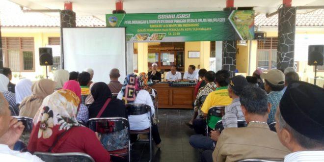 Dinas Pertanian Dan Perikanan Kota Tasik Road Show Sosialisasikan LP2B
