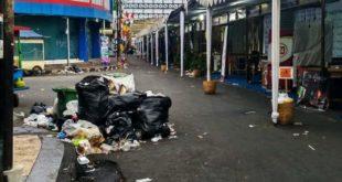 Kondisi tempat Penampungan Sampah