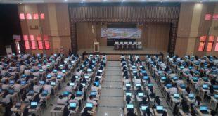 Puluhan Ribu CPNS Ikuti Ujian SKD Dipusatkan Di Kota Tasik
