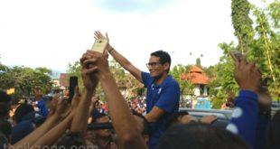 Sandi Uno Tidak Akan Jumawa, Tetap Bekerja Keras Sapa Masyarakat Indonesia