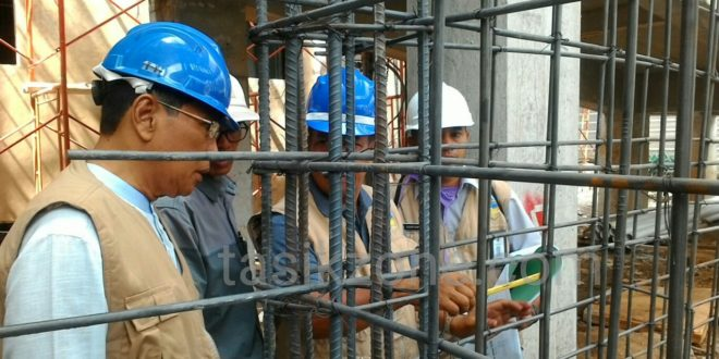 Wawali Monev Pekerjaan Lanjutan Pembangunan Rawat Inap RSUD Dr Soekardjo