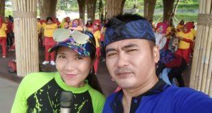 Grup Senam Morena Ramaikan Kampung Hawu