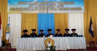 STISIP Wisuda 111 Mahasiswa