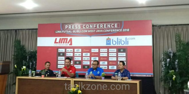 Tasikmalaya Menjadi Kota Pelaksanaan LIMA Futsal Blibli.com West Java Confrence 2018