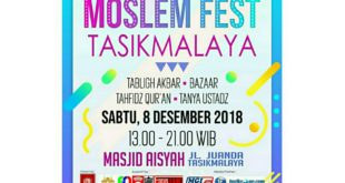 Bangun Perekonomian Umat, KPMI Gelar Moslem Festival