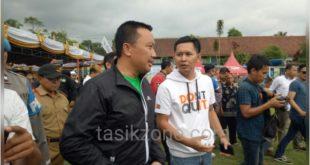 Didepan Menpora, Kades Cisayong Beberkan Penghasilan Lapang Lodaya Capai Puluhan Juta