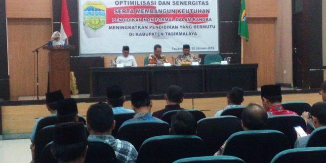 Dinas Pendidikan Kabupaten Tasik Sinergikan Formal Dan Non Formal