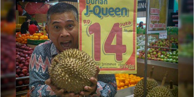 Fantatis !! Di Tasikmalaya ada Durian Dibandrol 14 Juta