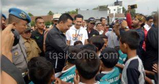 Menpora Kunjungi Lapang Sakti Lodaya Cisayong