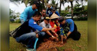 Pemkab Pangandaran Apresiasi Penanaman 1000 Pohon Oleh APG 126