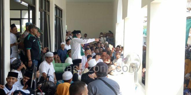 Tabligh Akbar Rhoma Irama Disesaki Masyarakat Tasikmalaya