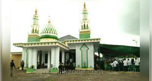 Walikota Tasik Resmikan Masjid Megah Di Komplek Dishub