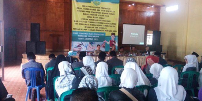 Disdik Kabupaten Tasik Gelar Pengadaan Modul Pembelajaran Bahasa Inggris