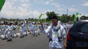 Ketua FKDT Kota Tasikmalaya Ahmad Sapei melakukan Pemantauan Selama Kegiatan Manasik Haji Berlangsung