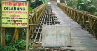 Jembatan Gobang Akan Diperbaiki Tahun 2019