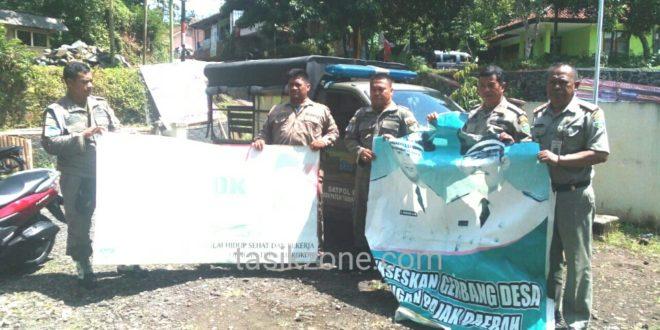 Satpol PP Roadshow Keliling Kecamatan, Turunkan Baliho Uu Ruzhanul Ulum