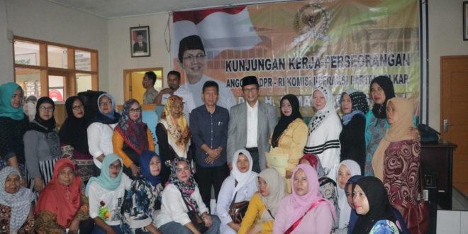 Ahmad Zacky Siradj Serap Aspirasi Masyarakat Se Kecamatan Sukaraja