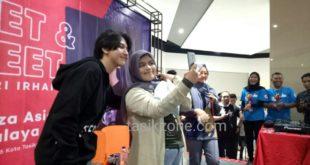 Ari Irham Sedot Pengunjung Counter 3Second di Plaza Asia