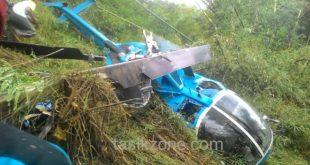 Begini, Kesaksian Warga Sebelum Helikopter Yang Ditumpangi Caleg DPR RI Jatuh