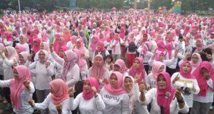 Gebyar Senam Kopertas Deklarasi Dukung Jokowi Maruf Amin