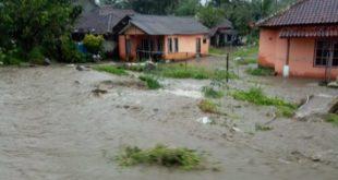 Kondisi Terkini Banjir di Kecamatan Sukaratu