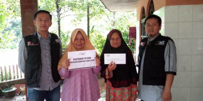 ACT Tasikmalaya Santuni Pejuang Suara Rakyat