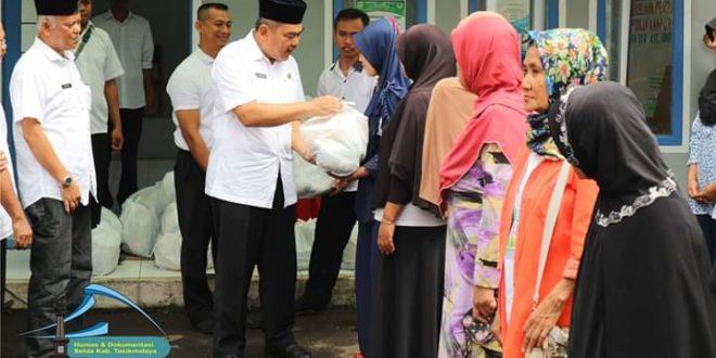 Pemkab Tasik Launching Operasi Pasar Murah