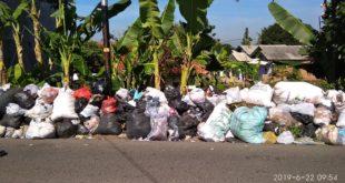 Tumpukan Sampah Di Desa Cisayong Tidak Diakut Khawatir Timbulkan Penyakit