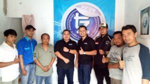 Tim Grab Jawa Barat dan Grab Tasikmalaya menyambangi Redaksi Tasikzone