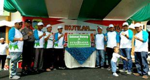 BPJS Ketenagakerjaan Launching Desa Sadar Sekaligus Jalan Sehat Di Jatihurip