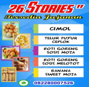 Street Food 26 Stories Lagi Promo Serba 5K