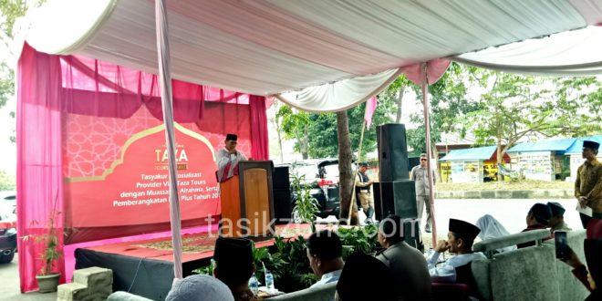 TAZA Tours dan Travel Umroh Tasikmalaya Berangkatkan Haji ONH Plus
