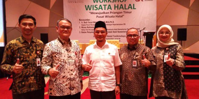 Anggota Legislatif Apresiasi Workshop Wisata Halal Digagas Masyarakat Ekonomi Syariah