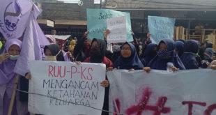 Kembali, Kali Ini Demo Tolak RUU Penghapusan Kekerasan Seksual di Tasikmalaya