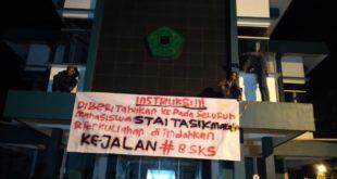 Mahasiswa STAI Tasikmalaya Tuntut Presiden Jokowi Kembalikan Marwah Independensi KPK