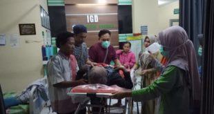 Orang Terlantar Sakit Dibantu oleh Kabid Dinsos Sudah Dipulangkan Ke Kampungnya