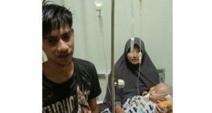 Pasca Operasi Abidzar Kini Jalani Rawat Inap